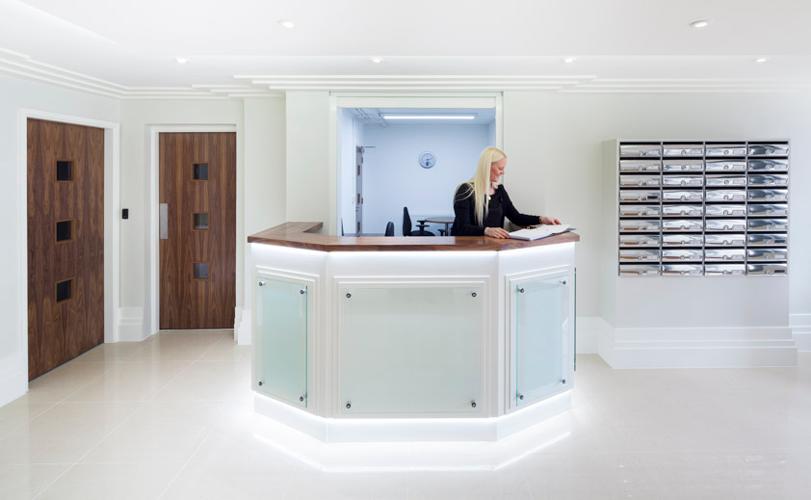 Ability London Reception Desk