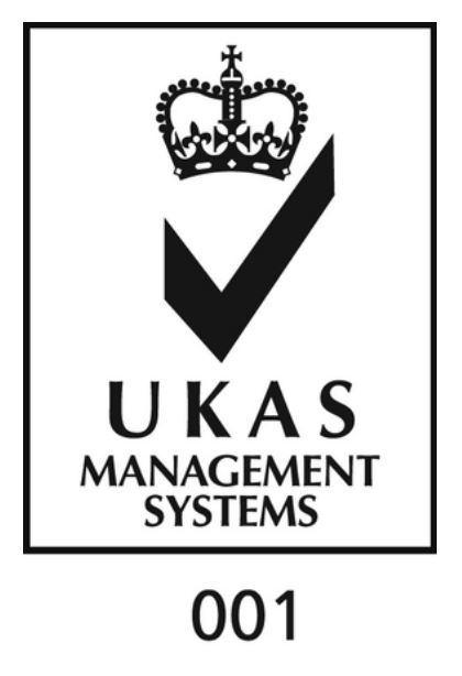ukas and iso logo
